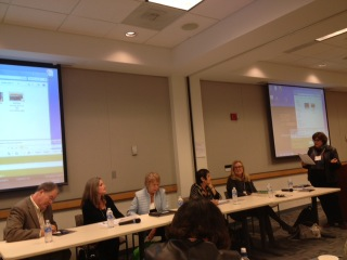 Need Footage? Panel moderated by Judith Snyderman, WIFV DC, Board Member